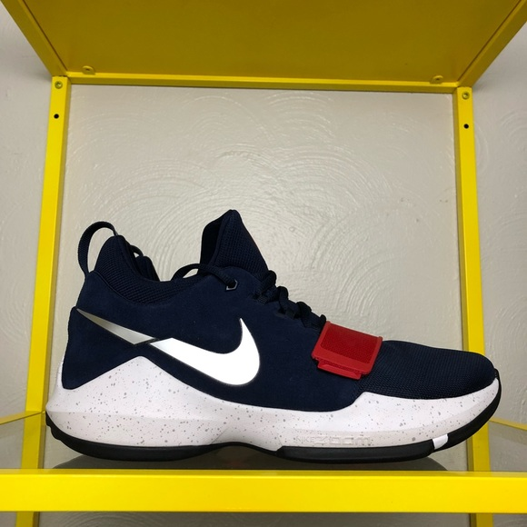 9309181a49d Nike PG1 USA Olympics Navy Shoes Men s 11 - NEW